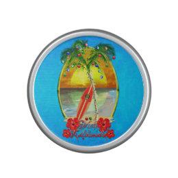 Beach Mele Kalikimaka Bluetooth Speaker