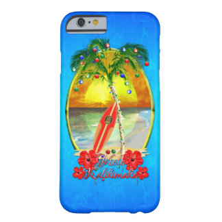 Beach Mele Kalikimaka Barely There iPhone 6 Case