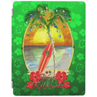 Beach Mele Kalikimaka iPad Cover