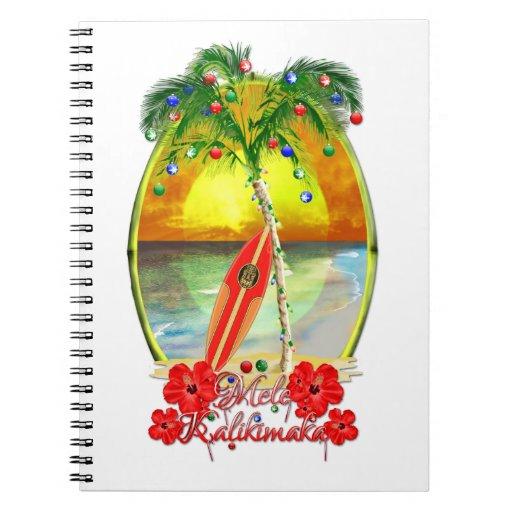 Beach Mele Kalikimaka Journal