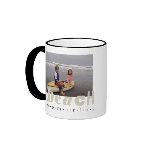 beach memories mug mug