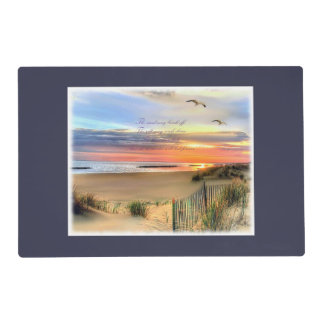 """Beach Memories"" Placemat"