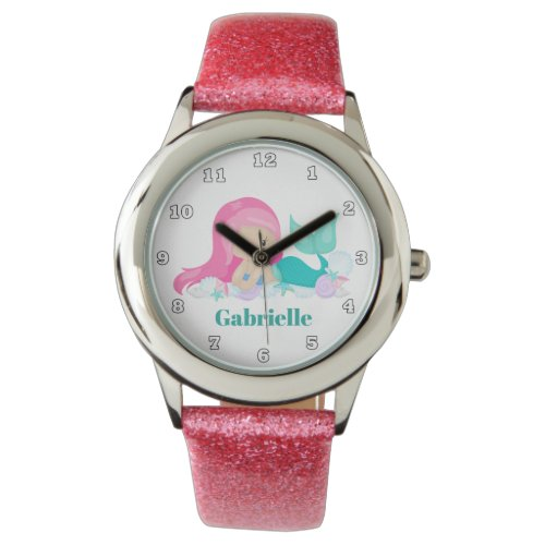 Beach mermaid add name watch