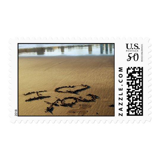 Beach Message Postage