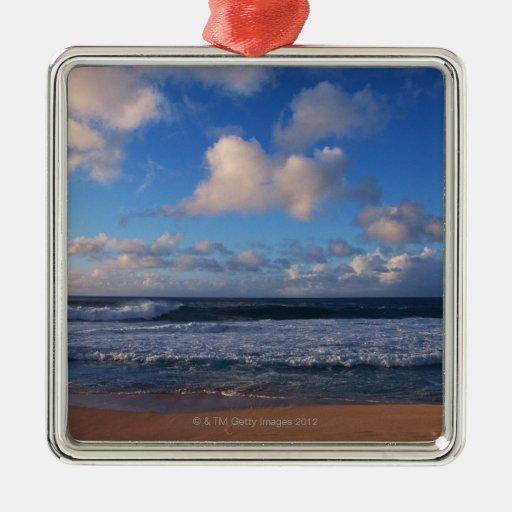 Beach Metal Ornament