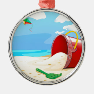 Beach Metal Ornament