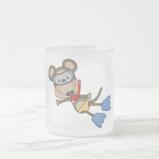 Beach Monkey Snorkeling Tshirts and Gifts Coffee Mugs