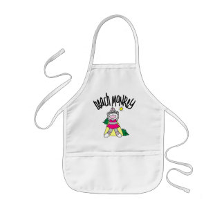 Beach Monkey Tshirts and Gifts Kids' Apron