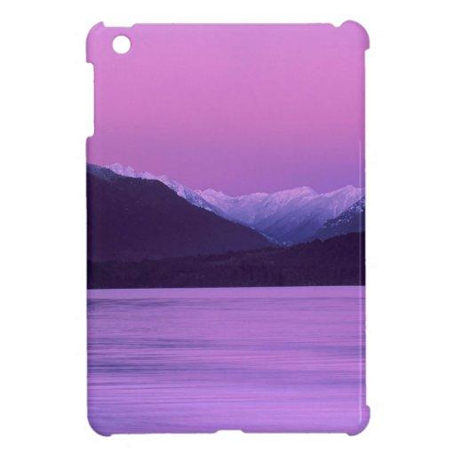 Beach Moonset Hood Canal Mountains Seabeck iPad Mini Covers