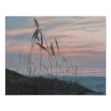 Beach Themed BEACH MORNING VIEW Poster
