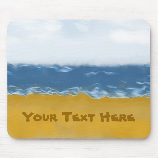 Beach Mouse Pad
