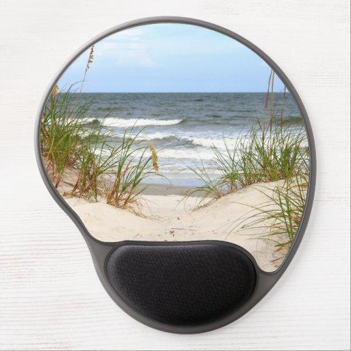 Beach Mousepad Gel Mousepad