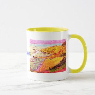 beach music art mug