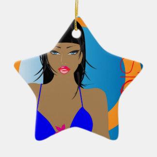 beach-music-girl.jpg adorno de navidad