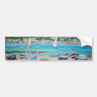 Beach Naxos - Bumper Sticker