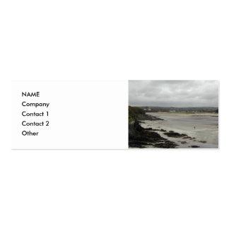 Beach near Rosscarbery Bay Ireland Business Card Templates