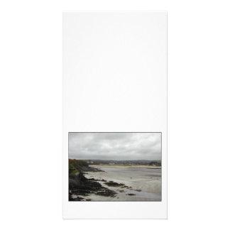 Beach near Rosscarbery Bay, Ireland. Custom Photo Card