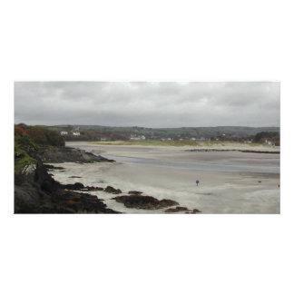 Beach near Rosscarbery Bay, Ireland. Photo Card Template