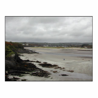 Beach near Rosscarbery Bay, Ireland. Photo Cut Out
