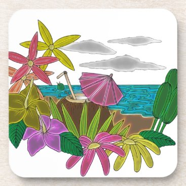 Beach Themed Beach neon coaster