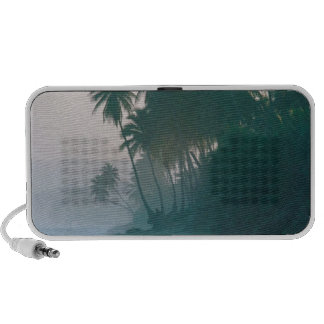 Beach New Light Misty Morn Puerto Rico Portable Speakers