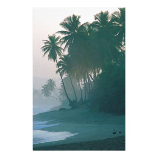 Beach New Light Misty Morn Puerto Rico Stationery Paper