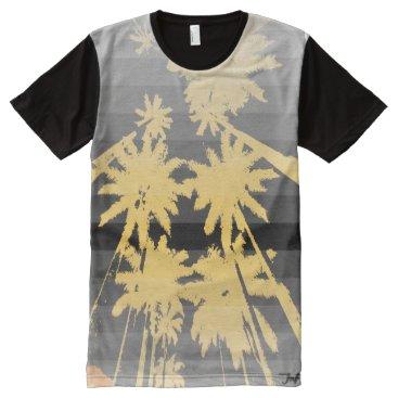 Beach Themed beach night black yellow All-Over-Print shirt