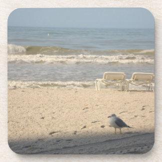 Beach Ocean Florida Seagull Photography Coaster