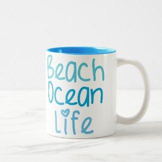 Beach Ocean Life Mug