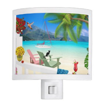Beach Themed Beach Ocean Night Light
