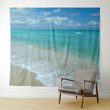 Beach Ocean Scenic Landscape Wall Hanging Backdrop Tapestry