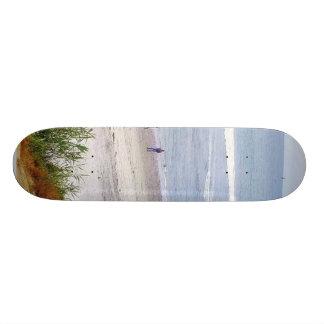 Beach Ocean Water Sand Waves Custom Skateboard