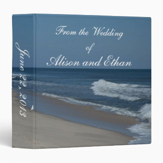 Beach & Ocean Wedding Binder