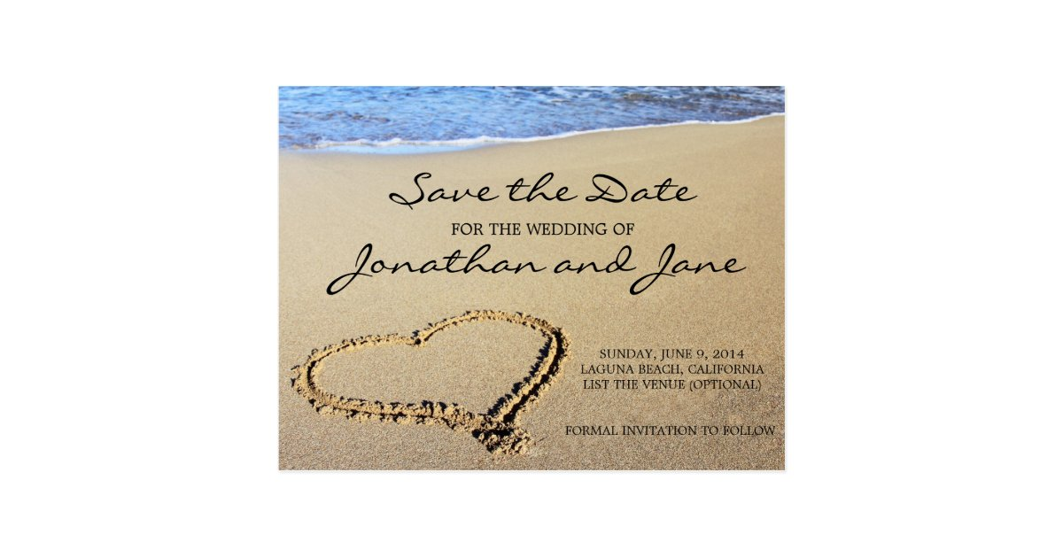 Save The Date Postcards | Zazzle