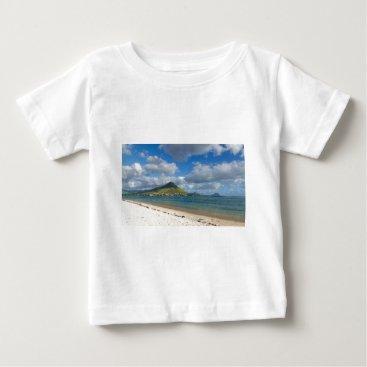 Beach Themed Beach of Flic en flac overlooking Tourelle du Tama Baby T-Shirt