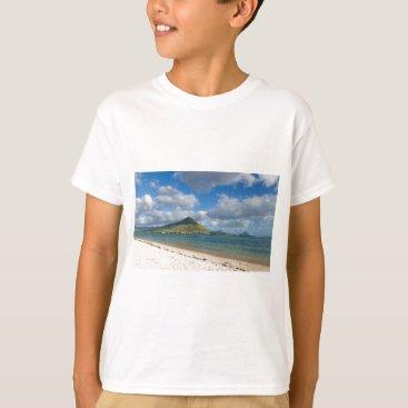Beach Themed Beach of Flic en flac overlooking Tourelle du Tama T-Shirt