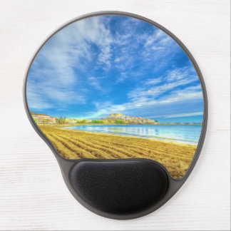 Beach of Peniscola-Castellon Gel Mouse Pad