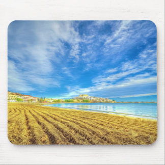 Beach of Peniscola-Castellon Mouse Pad