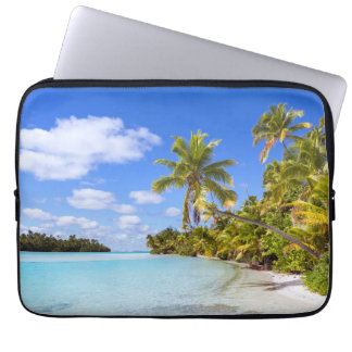 Beach Of Tapuaetai | Aitutaki, Cook Islands Computer Sleeve
