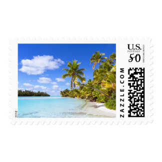 Beach Of Tapuaetai | Aitutaki, Cook Islands Postage