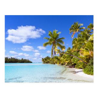 Beach Of Tapuaetai | Aitutaki, Cook Islands Postcard