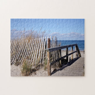 Beach off-season jigsaw puzzle