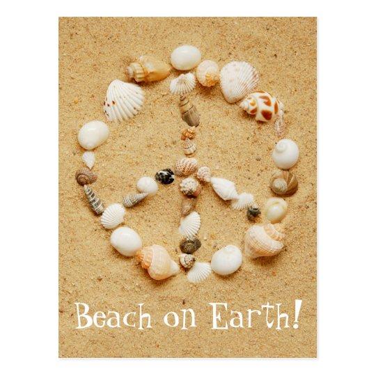 Beach On Earth Postcard