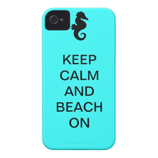 BEACH ON - iPhone 4, Barely There ID/Credit Card Case-Mate iPhone 4 Case