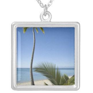 Beach on mainland Aitutaki, Cook Islands Custom Jewelry