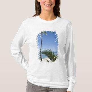 Beach on mainland Aitutaki, Cook Islands T-Shirt