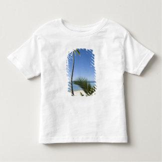 Beach on mainland Aitutaki, Cook Islands Toddler T-shirt