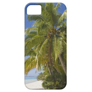 Beach on One Foot island, Aitutaki, Cook Islands iPhone SE/5/5s Case