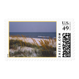 Beach on the Gulf of Mexico Postage