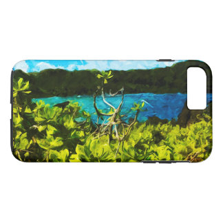 Beach On the Road to Hana Maui Abstract iPhone 7 Plus Case